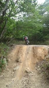 林道 バイク