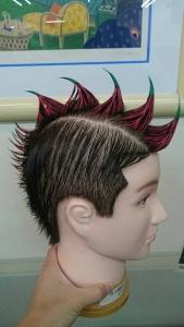 カープCSファイナル髪型